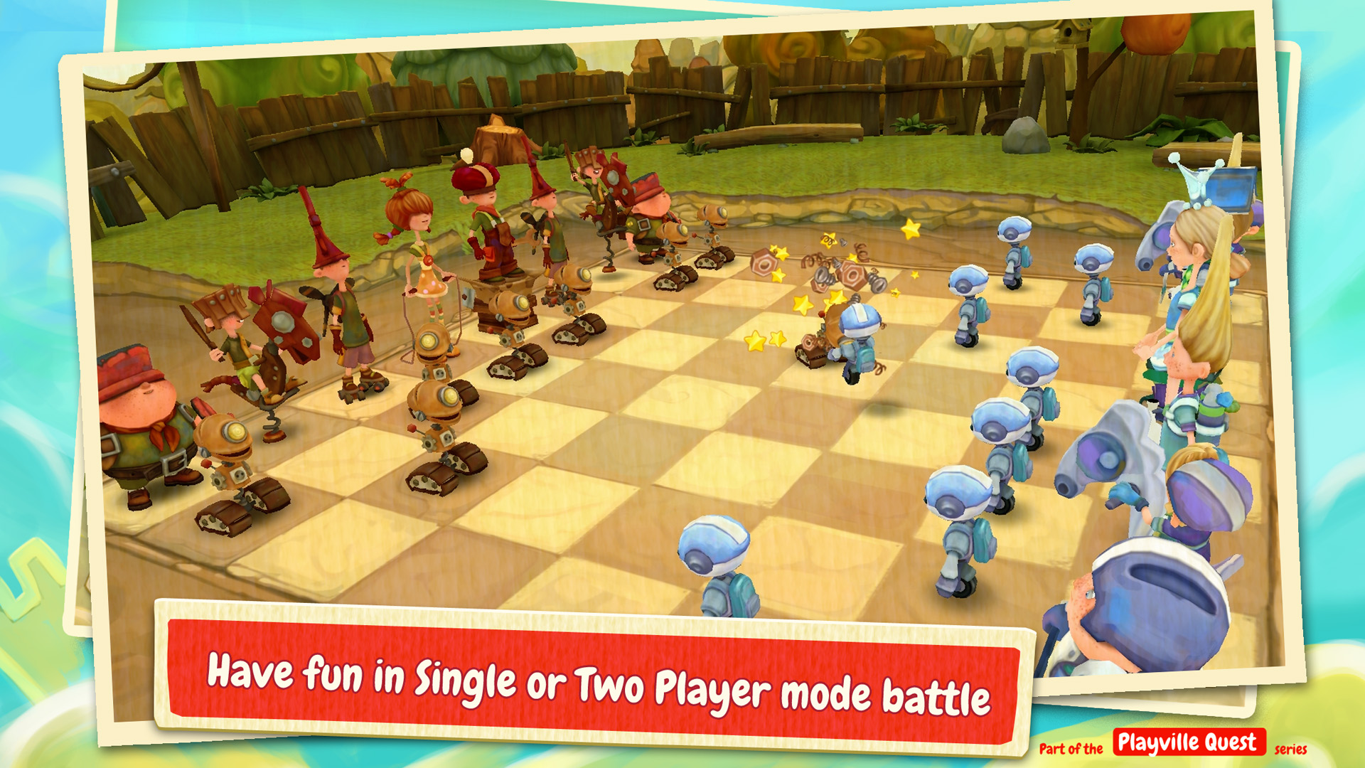 Toon Clash Chess   Ludus Studio